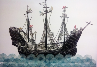 南蛮船 第6号 / Nam-ban ship N.6 / Loď nam-ban č. 6 2017