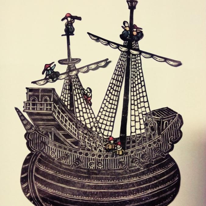 南蛮船 / Nam-ban ship n.5 / Lod' nam-ban č. 5 2017