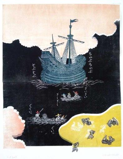 南蛮船 / The arrival of Nam-ban ship / Příchod lod' nam-ban 2017